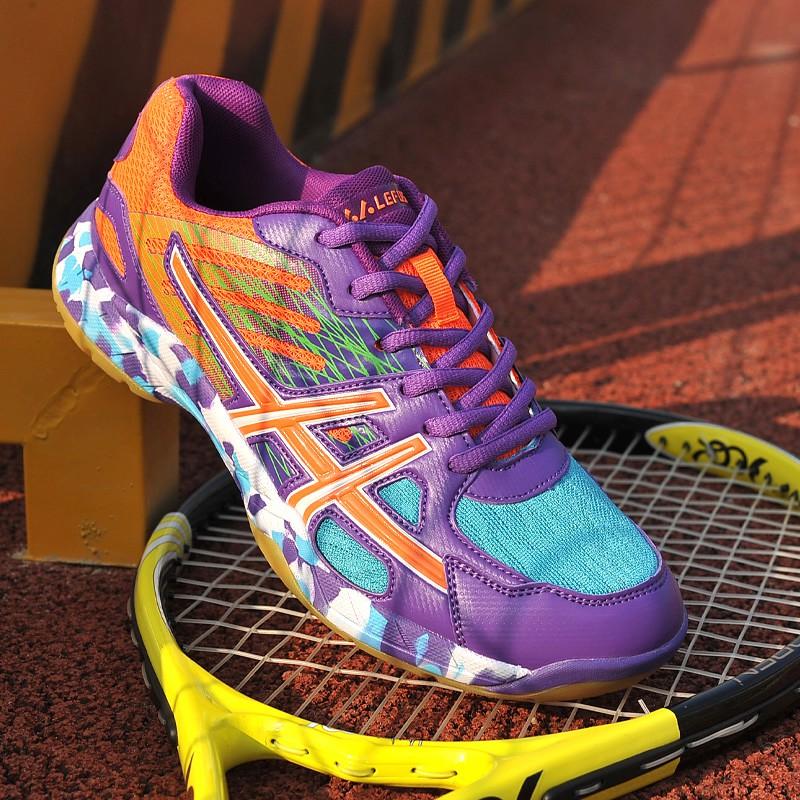 men women sport shoes badminton Shoes non slip absorb shock training shoes