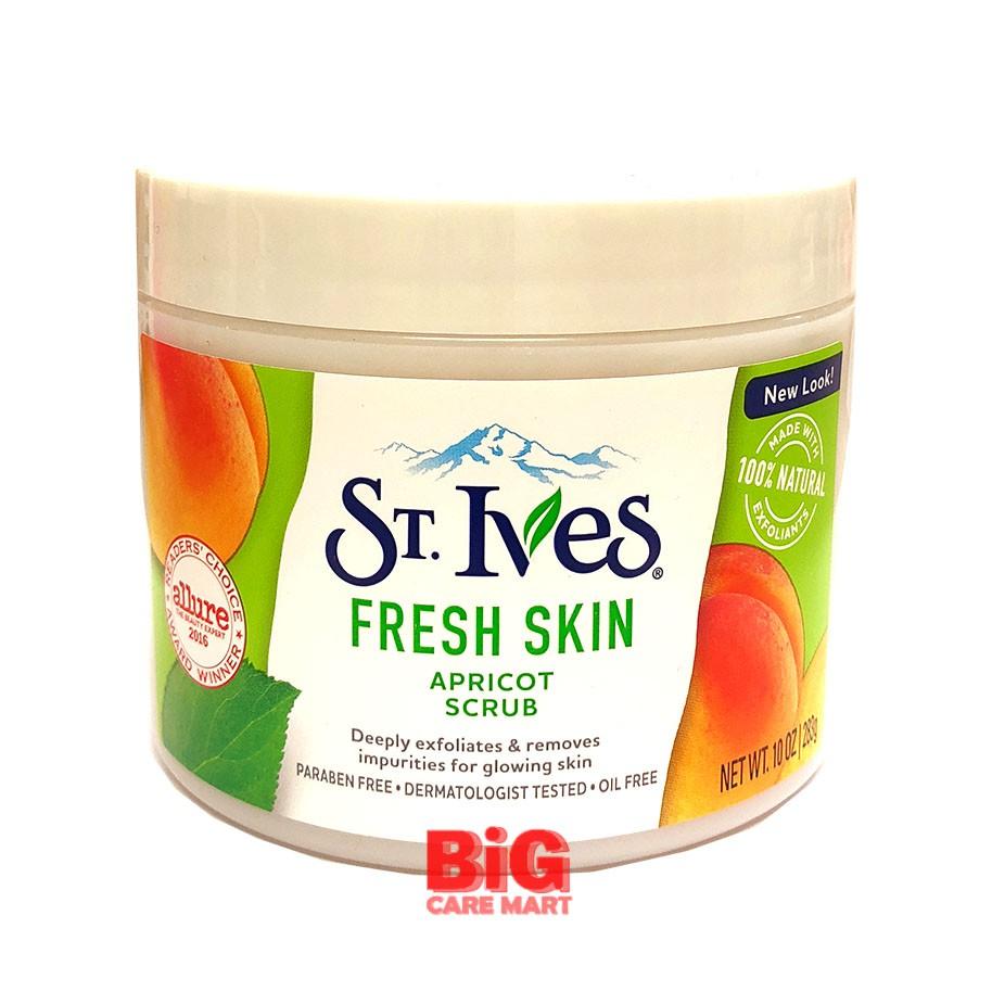 St Ives Fresh Skin Scrub - Large Size 283g