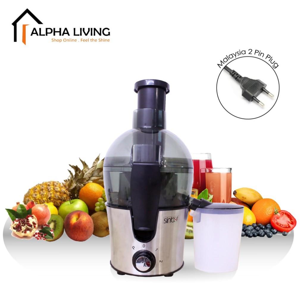 Alpha Living Multipurpose Juicer for Fruits & Vegetables KEA0235