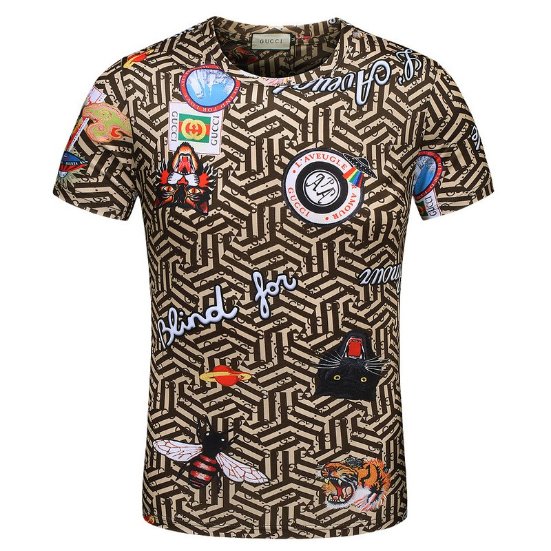09cb9e19bd13 gucci tee - T-shirts & Singlets Prices and Promotions - Men Clothes Jul  2019 | Shopee Malaysia