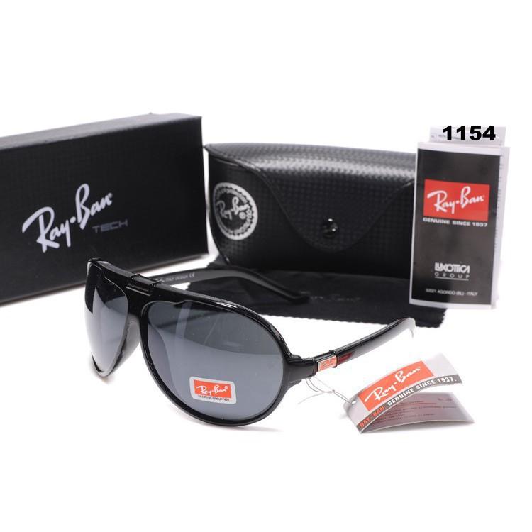 ec463e614c Summer Ray-Ban Rayban AUthentic Unisex Sunglasses Black Gray ...