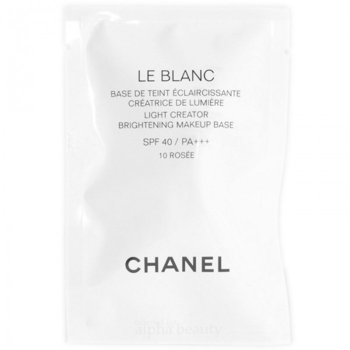 0ed4af26056 CHANEL Le Blanc Light Creator Brightening Makeup Base SPF40   PA+++ (Trial  size)