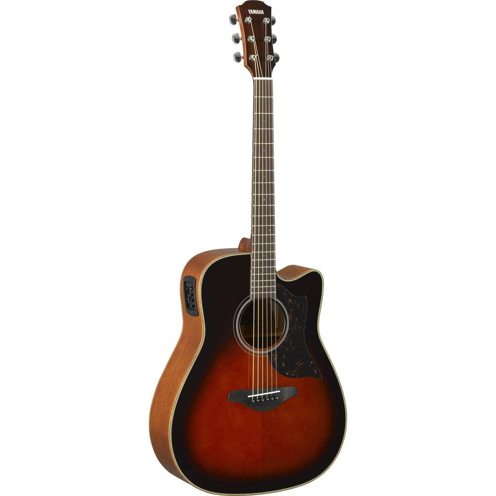 Yamaha A1M 41 Solid Sitka Spruce With Acoustic Electric Guitar