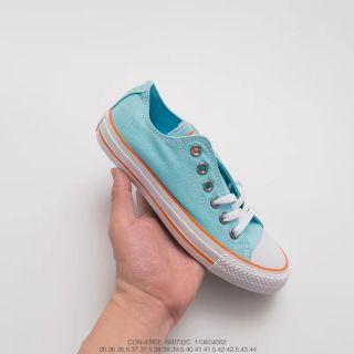 Converse All Star Low Top Bleach Aqua Low Top Men Unisex Women Sneakers Shoes