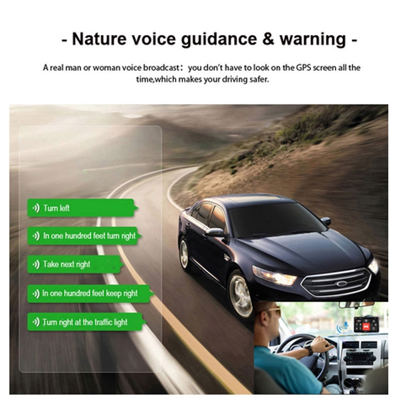 XGODY X4 9/'/' Portable GPS Navigation Touchscreen Auto Car Truck HGV Map SAT NAV
