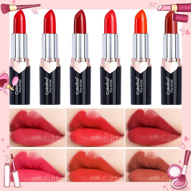 Lipstick ลิปสติกเพิ่มมอยซ์เจอไรเซอร์ยาวนานพิเศษ EOM ลิ