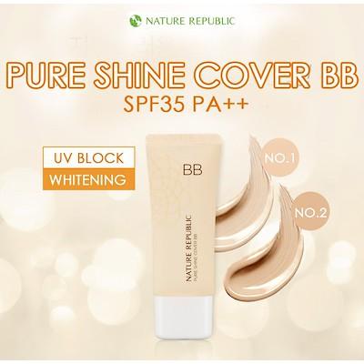 Nature Republic PURE SHINE COVER BB SPF35 PA++ (02. Natural Beige)