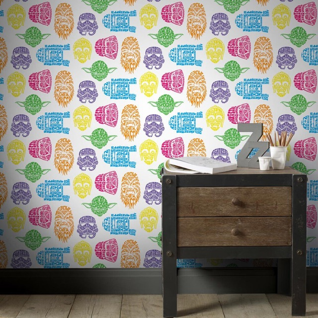 Original Star Wars Wallpaper Kids Home Wallpaper Shopee Malaysia
