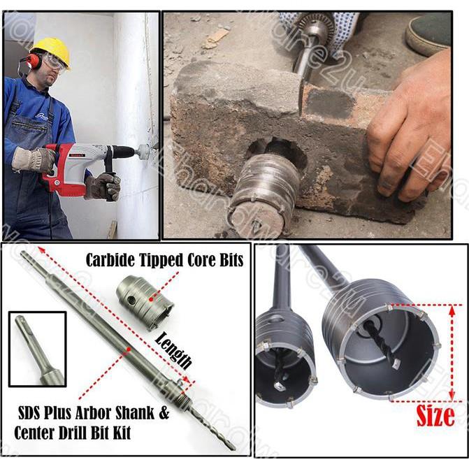 1//4/'/' 6mm HSS Arbor Spare Pilot Drill Bit For TCT Carbide Tip Hole Saw Cutter