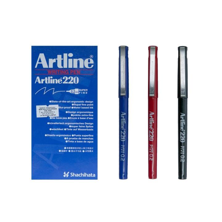 Artline 220 Writing Pen 0.2mm (12pcs/box)