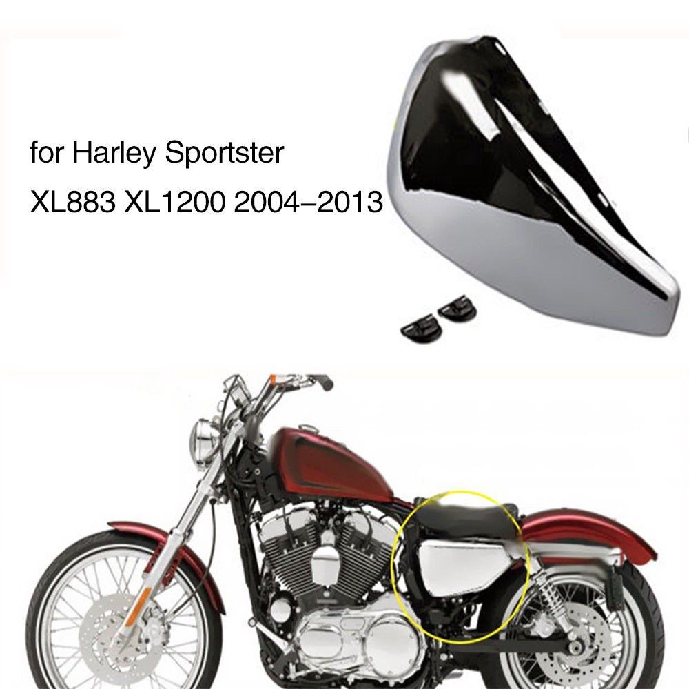 Battery Left Side Cover for 2004-2013 Harley-Davidson Sportster models OE 66261-04