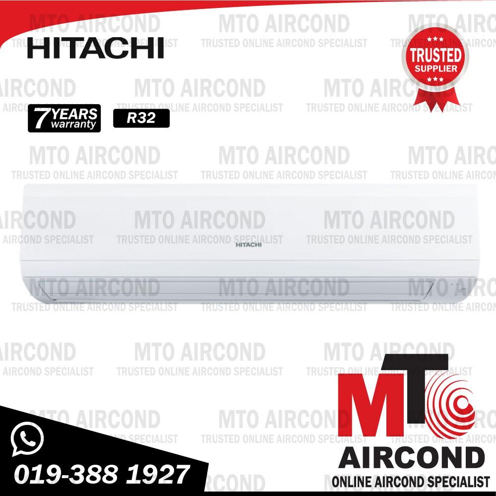 HITACHI AIRCOND AIR COND R32 2.5HP NON INVERTER Air Conditioner RAS/RAC-EJ24CKM