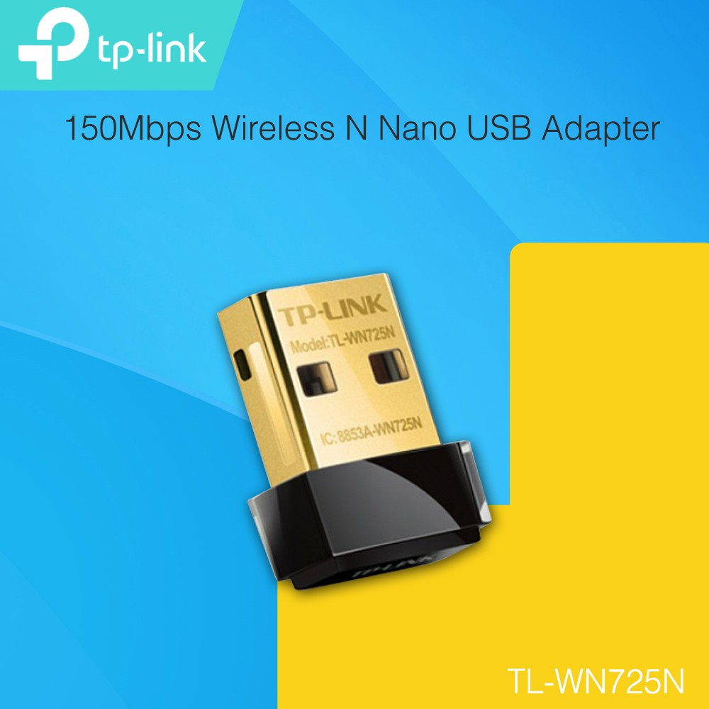 Tp Link Tl Wn725n 150mbps Wireless N Nano Usb Adapter Shopee Malaysia 150 Mbps