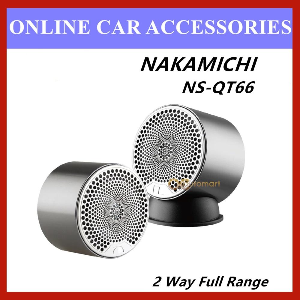 Nakamichi 25mm KSV 2 Way Full Range Tweeter Speaker 200W NS-QT66 (With Bass)