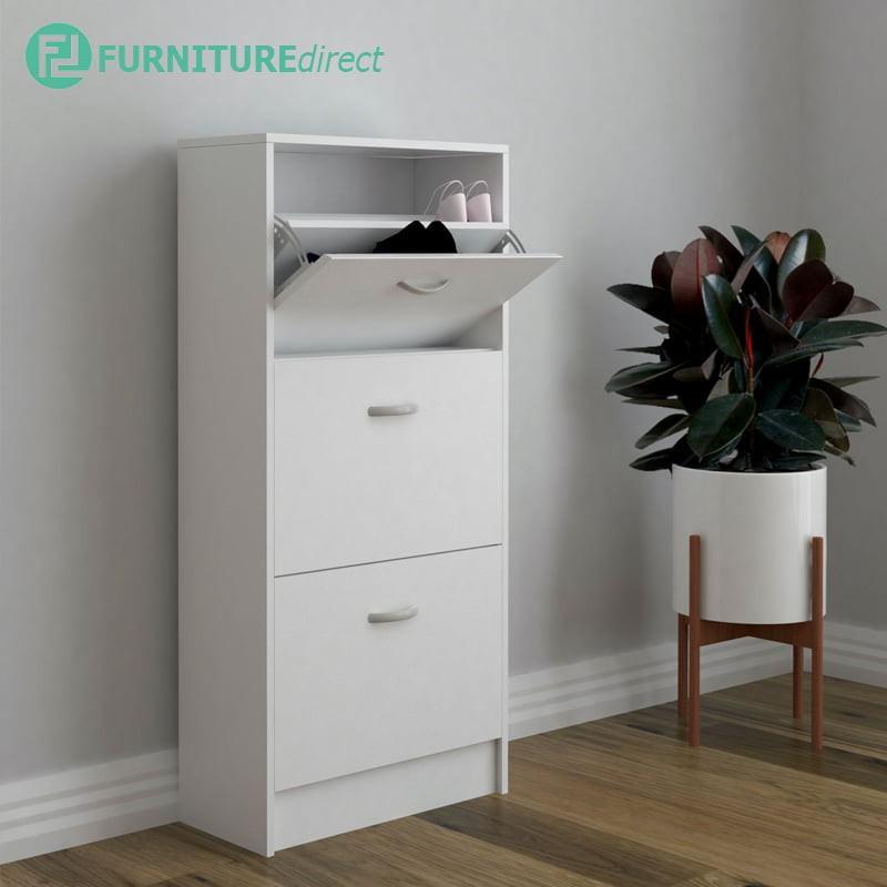 Furniture Direct Philip 3 Door shoe cabinet space saver rak kasut kabinet kasut