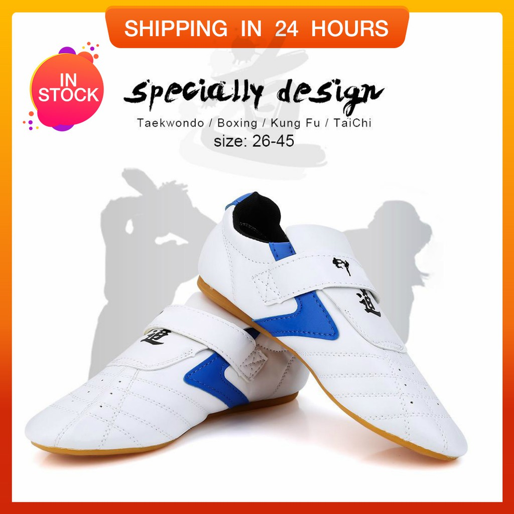 Adidas Taekwondo Karate Silat Kungfu Boxing Protection Foot Shoes Shoe