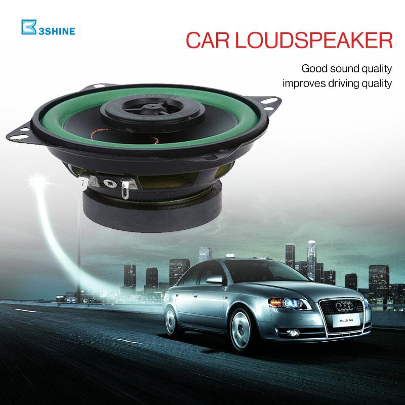 Car Speaker Audio Bass Speakers High-End 88dB 4 Inch Accessories Electronic