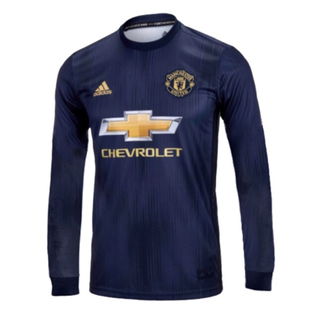 buy online 289c6 87548 Manchester United 3rd long sleeve 2018/19 jersey