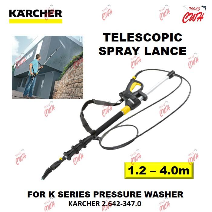 KARCHER 2.642-347.0 TELESCOPIC SPRAY LANCE ACCESSORY ACCESSORIES 26423470 K2 K3 K4 K5  SPARE PART