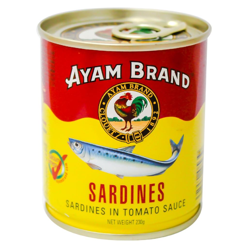 Ayam Brand Sardine in Tomato Sauce (230g)
