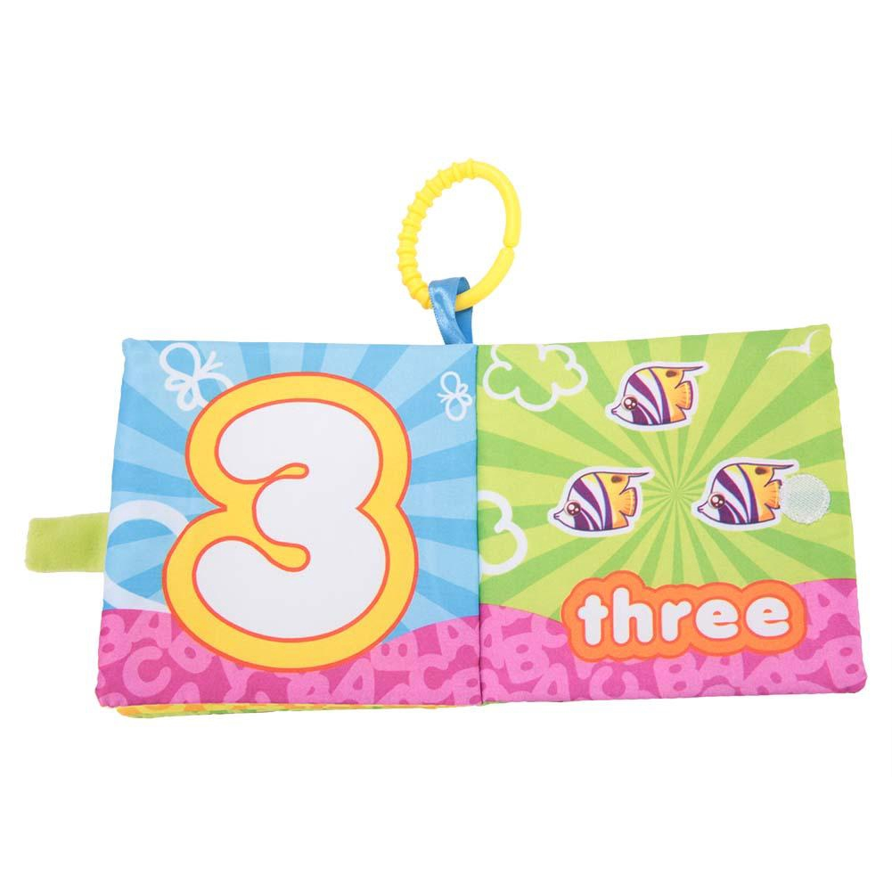 6 pcs//lot Soft Cloth Baby Books Rustle Paper Infant Educational Preschool Toys