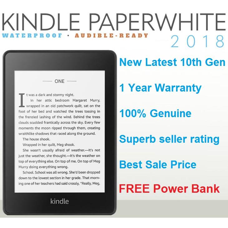 Kindle Paperwhite 2019 10th Gen 8GB