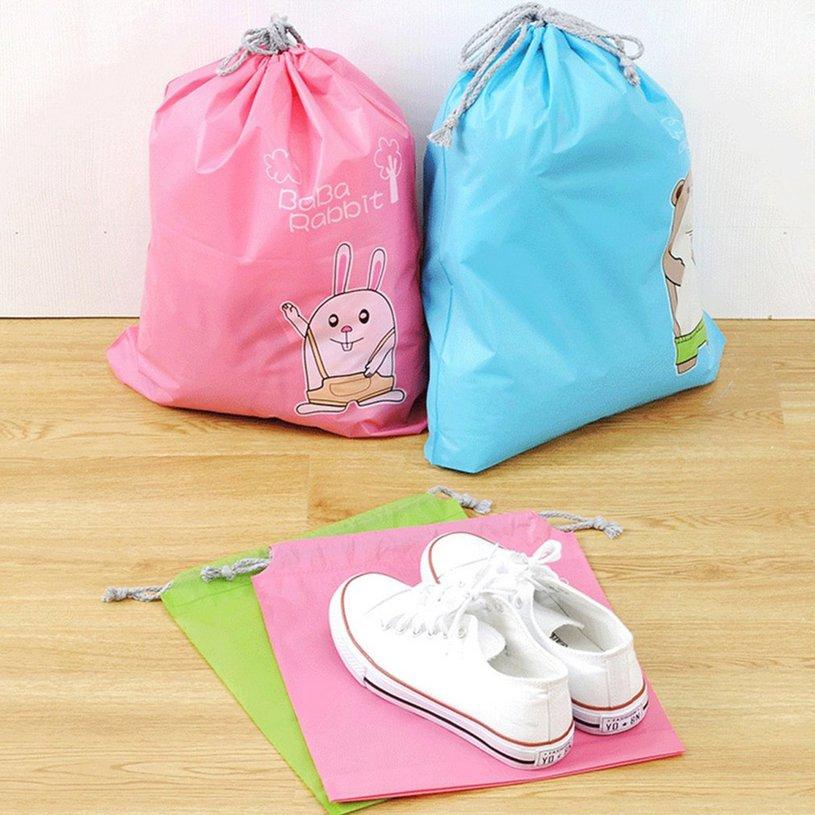 3e5c0dd6936f ♬☂Suitcase Shoes Underwear Travel Storage Bag Cartoon Waterproof Organizer♪