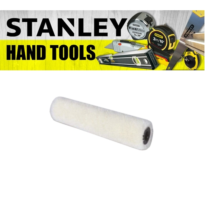 STANLEY MINI ROLLER AND REFILL 29-808-5 100MM 4'' INCH  PAINTING FINISHING TOOL