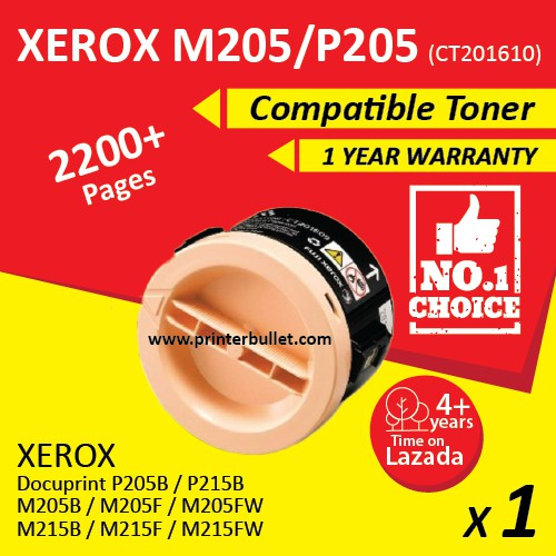 Fuji Xerox M205f / M215b / M215fw / P205b / CT201610 Compatible Toner Cartridge