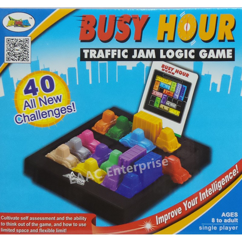 IQ Game & Busy Hour Traffic Jam Logic Game Fun Toys