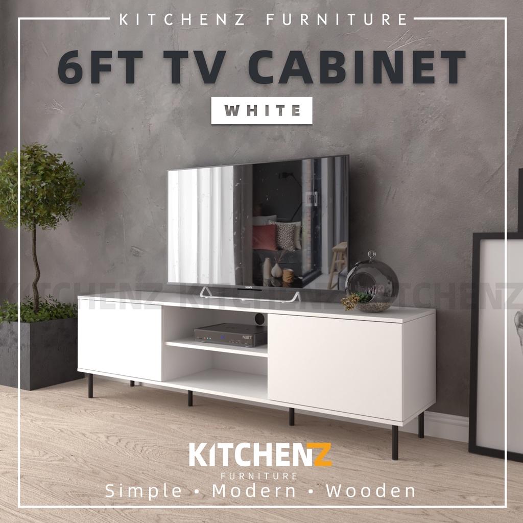 Homez 6Ft Tv Cabinet Modernist Design Solid Board Tv Rack / Tv Console - HMZ-FN-TC-EC5014