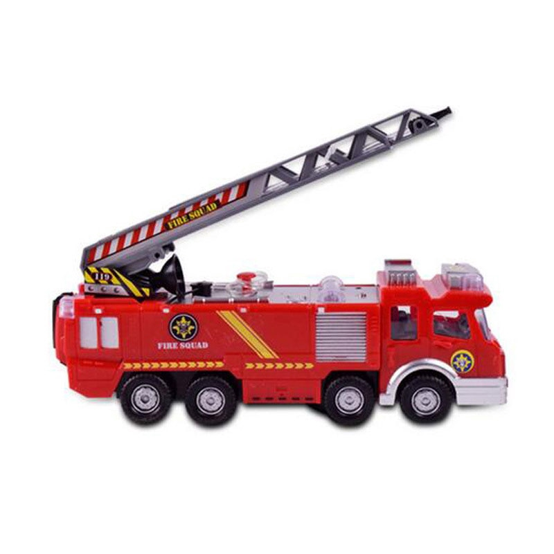 Truck Fire Juguetes Fireman Sam Spray Water Toy Vehicle Car Educational