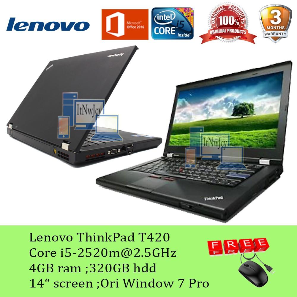 Refurbished Lenovo ThinkPad T420 Corei5-2520m