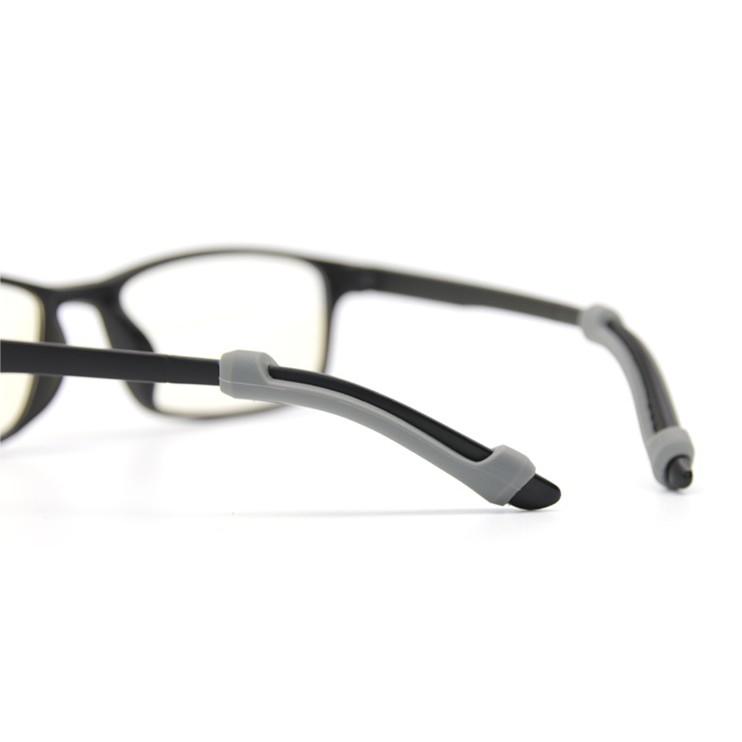 289f0b249884 2 Pairs Silicone Ear Hook Tip Eyeglass Grip Anti-slip Holder ...