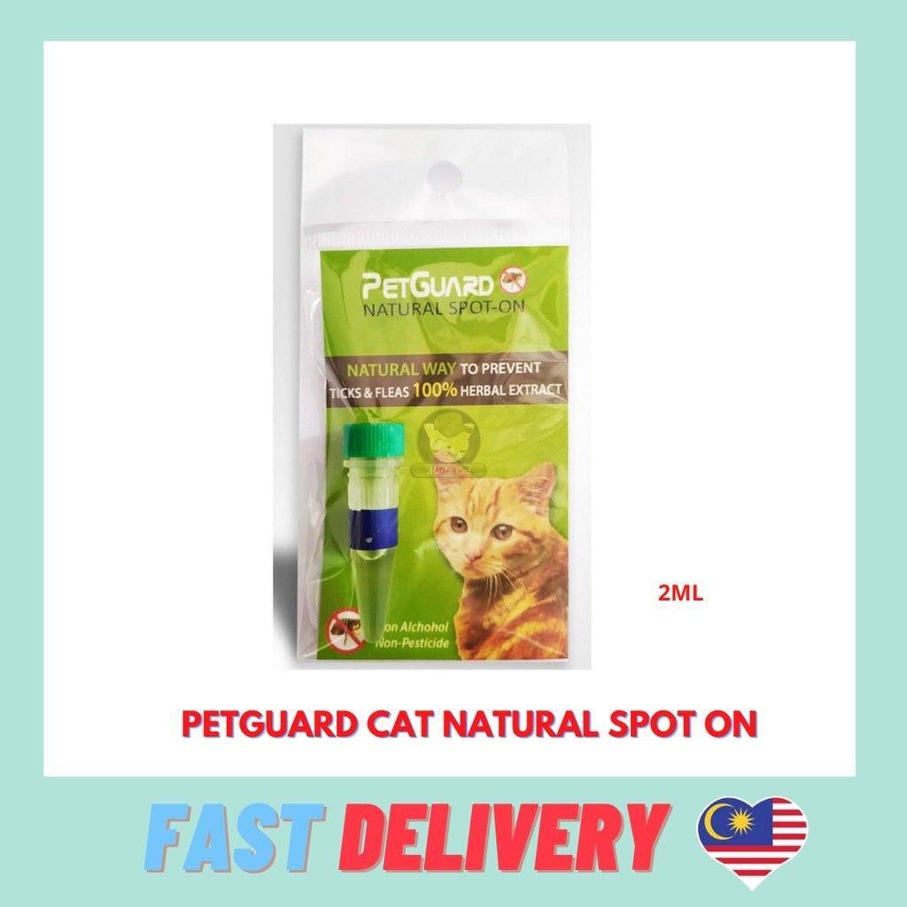 Petguard Natural Flea & Tick Spot-On 2ML Ubat kutu