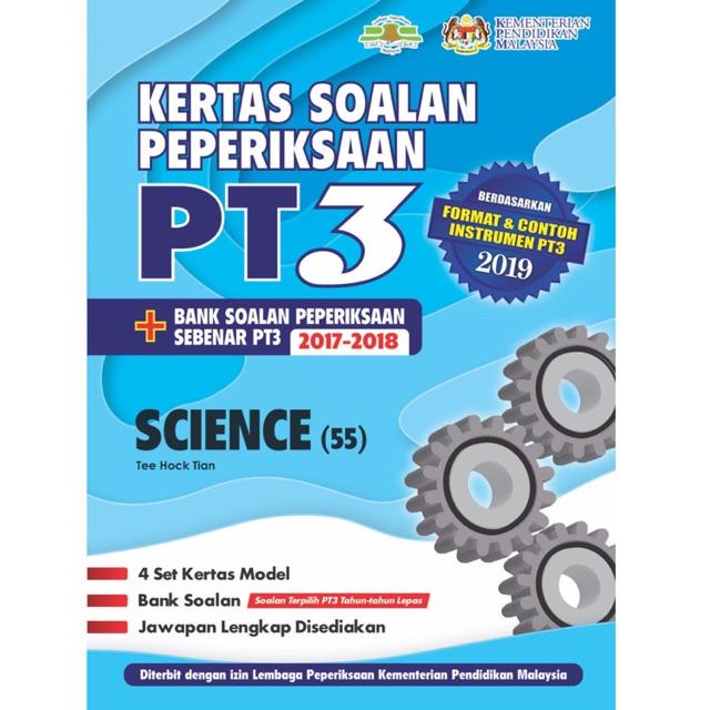 TNY Kertas Soalan Peperiksaan PT3 Science - Bilingual