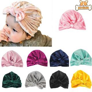 438bc69d7 Baby Girl Knit Floral Bowknot Elastic Hollow Hats Cap Cute Soft Hair ...
