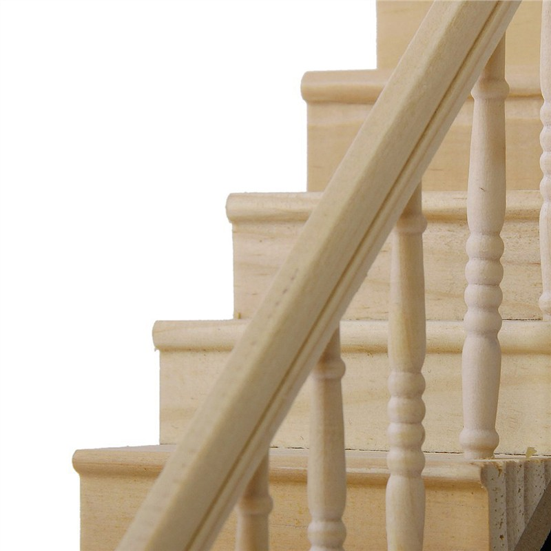Dolls House Crafters Miniature  Staircase Stairs with  Wooden Banister