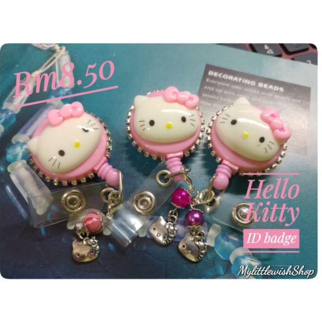9145be15d HELLO KITTY ID BADGE | Shopee Malaysia
