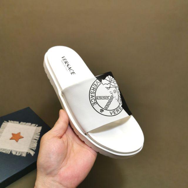 Versac2020 Sandals Slippers Slides Men (White) Premium - 38-45 EURO