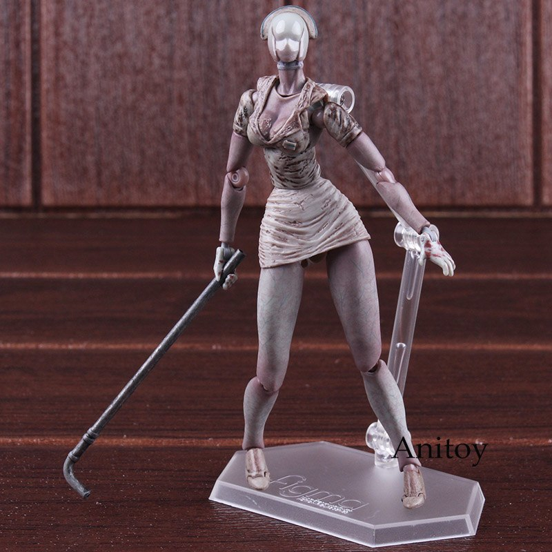 Action & Toy Figures Silent Hill 2 Bubble Head Nurse Figma Sp-061 Non Scale Pvc Action Figure Toy Collectible Model Doll