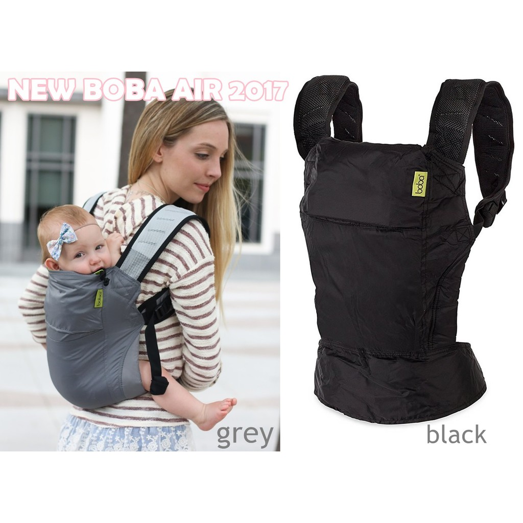 New Boba Air Baby Carrier With Mesh Shoulder Straps 2017 Edition
