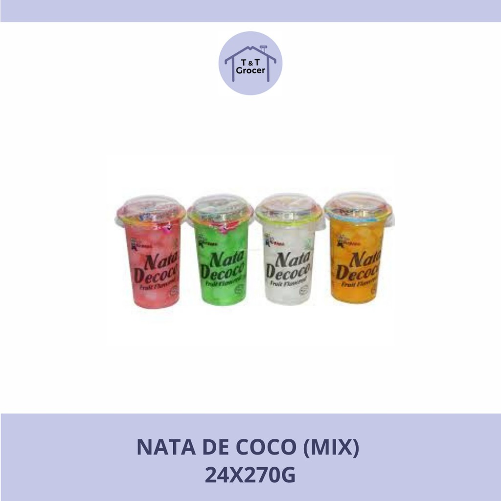 Nata De Coco 24x270g (Mix)
