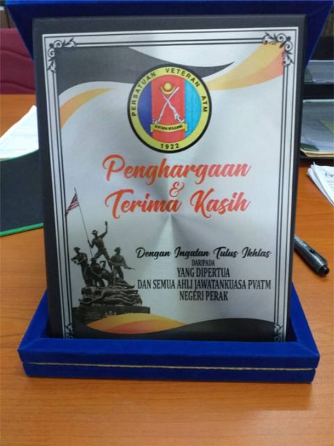 Corporate Exclusive Gift Plaque Plak Baldu Shopee Malaysia