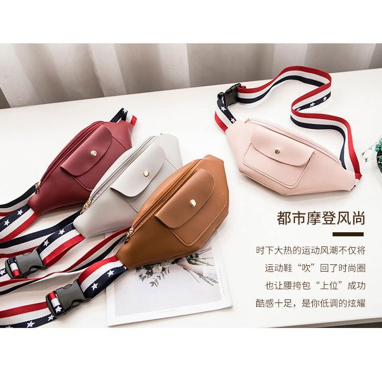 新款时尚 迷你百搭腰包 零钱包 外贸女包包