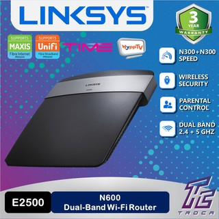 Linksys RE3000W-SG N300 Wireless Range Extender with 1 Fast