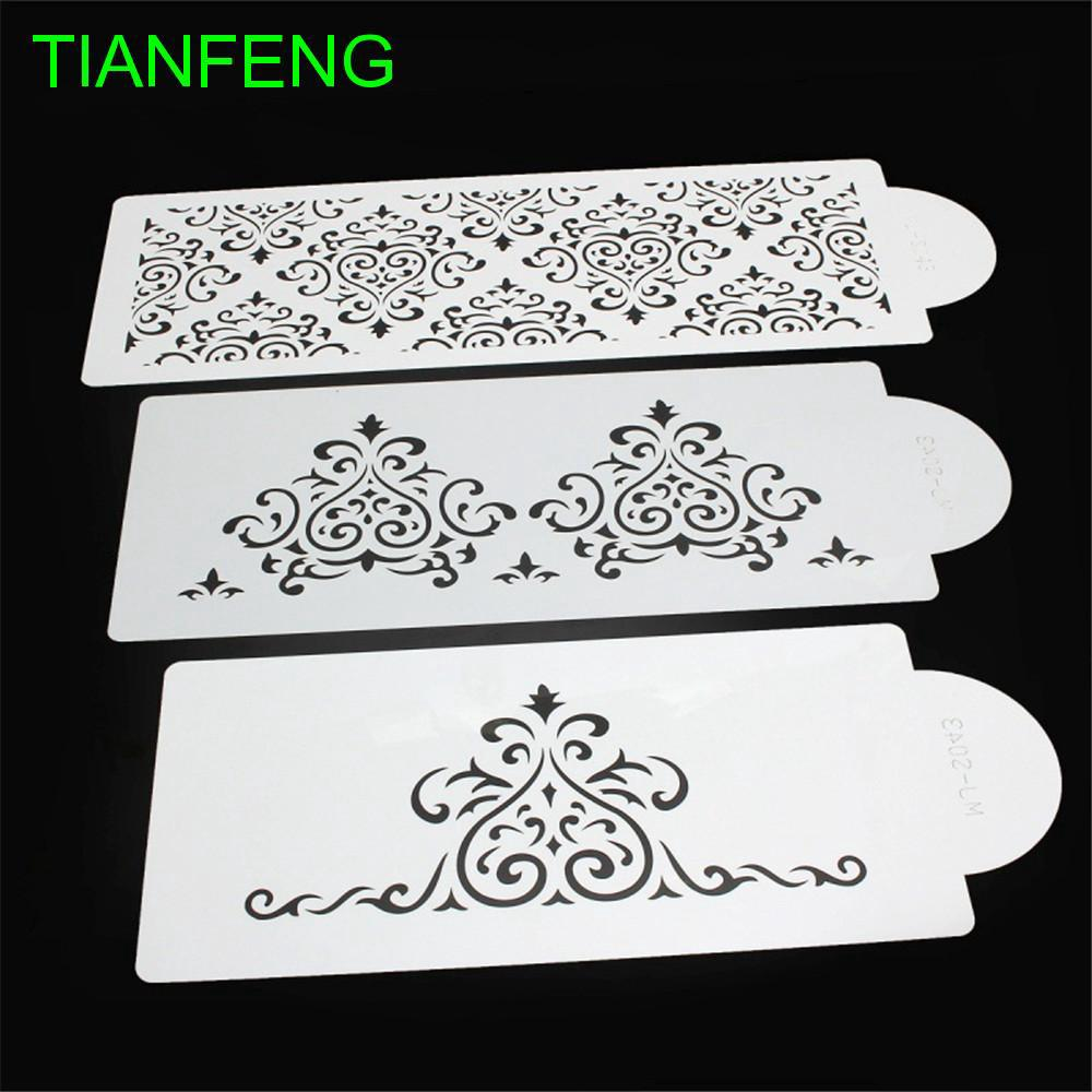 Stencils Lace Flower Stencils Drawing Template Cutting Die Embossing Card