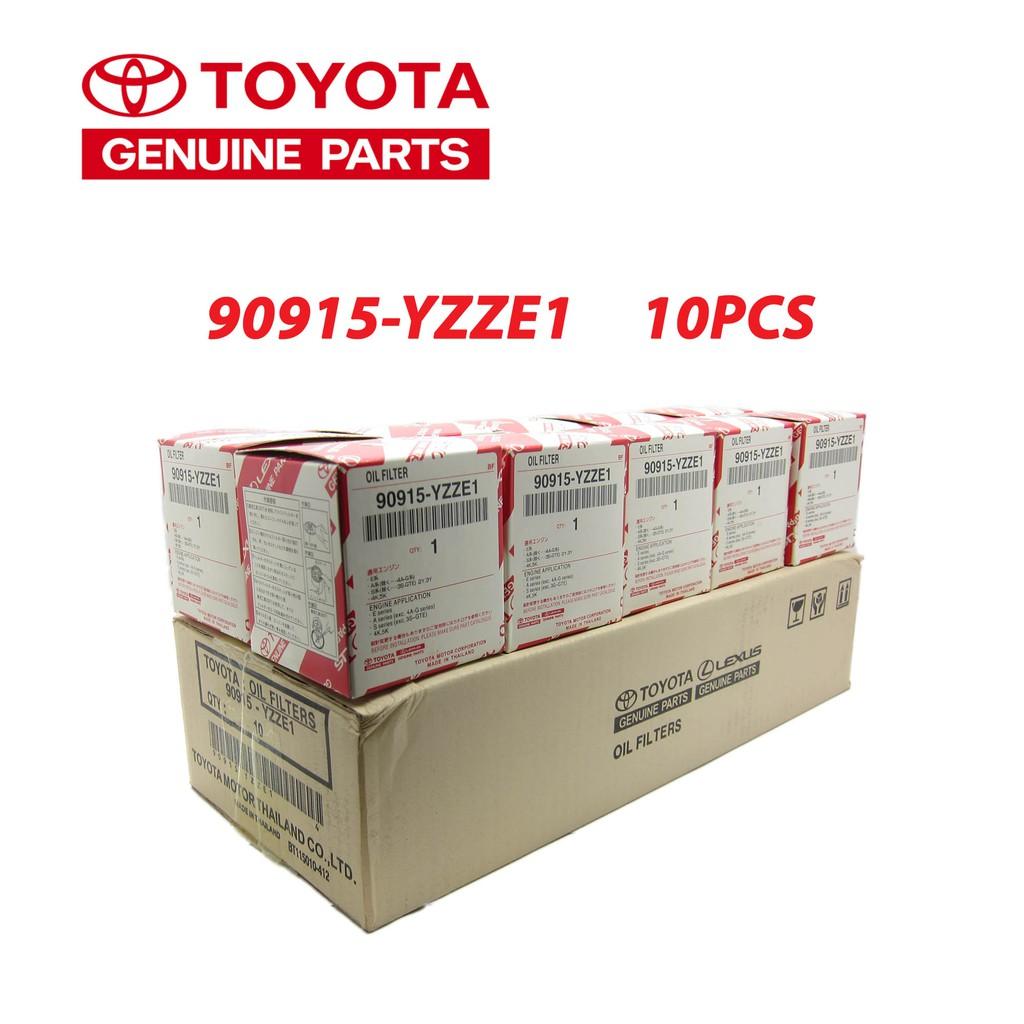 TOYOTA OIL FILTER 90915-YZZE1 OIL FILTER E1