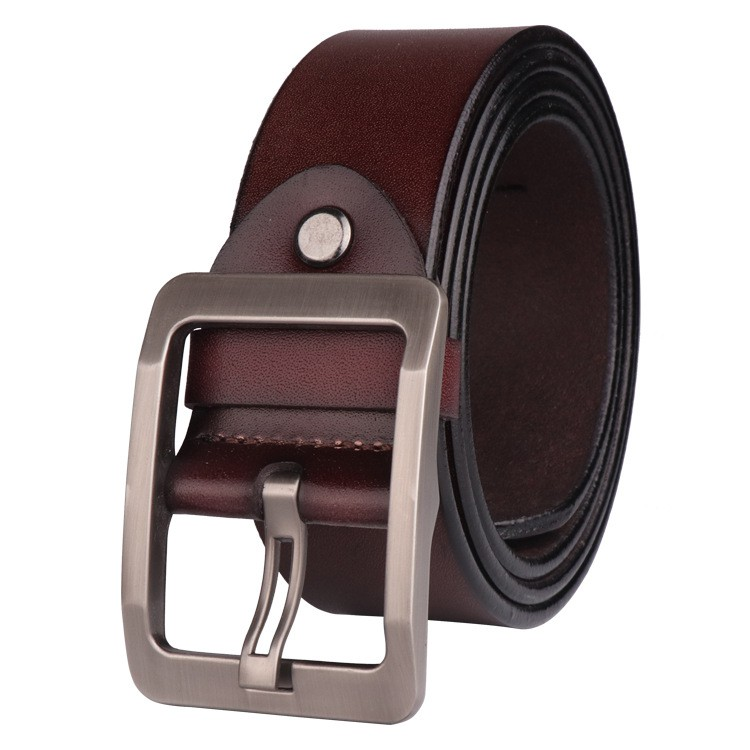Belt MenS Belt Automatic Two Story Business Casual Leather Alloy Length 100-135Cm