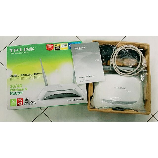TP Link Wireless Router Internet TP-MR3420